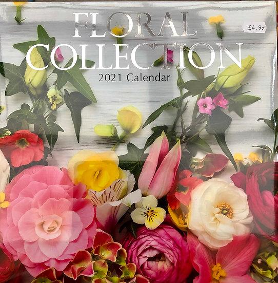 Calendar 2021 - Floral