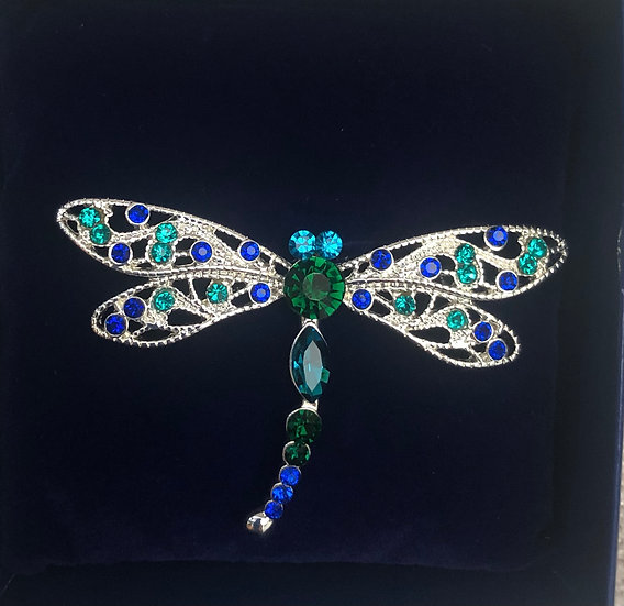Dragonfly brooch IBRO0789B