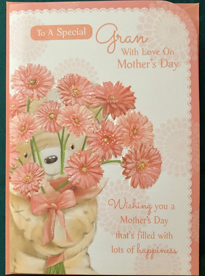 Gran - Mothers Day Card