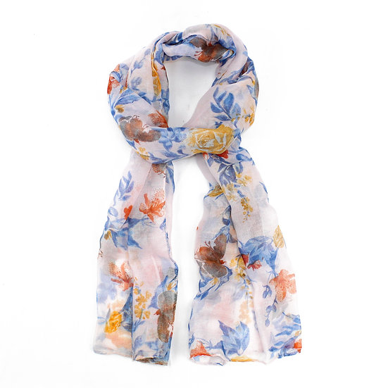 Summer scarf - Floral - XS4311 C02
