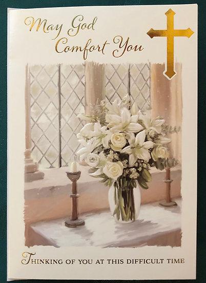 Sympathy Card - Religious