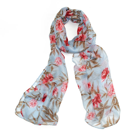 Summer scarf -  Floral - XS6203 C26