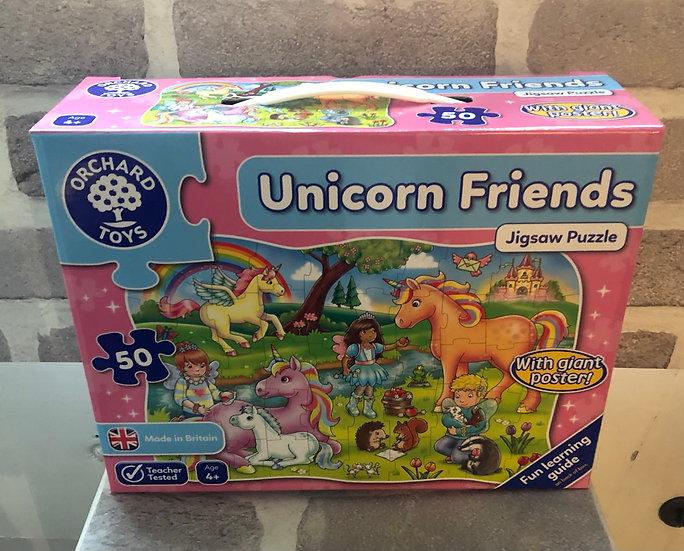 Floor puzzle Unicorn Friends