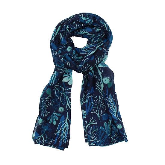 Summer scarf - Rockpool Navy - RH4052 C02
