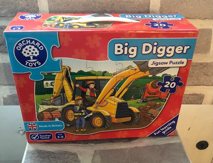 Floor puzzle Big digger