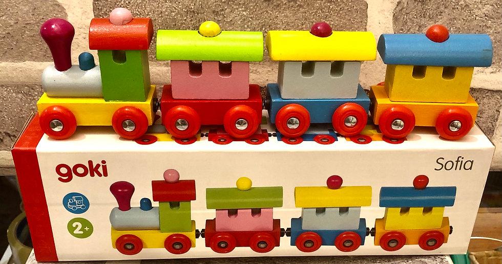 Wooden Train Sophia