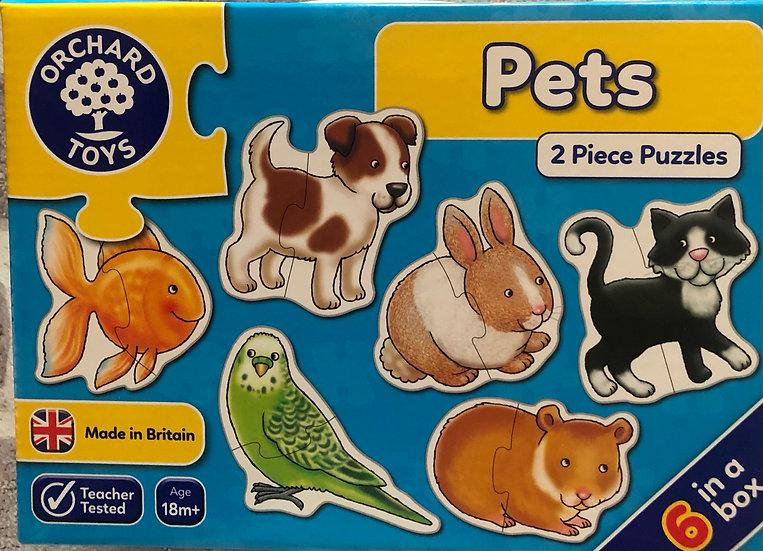 Pets puzzles  Age 18m+