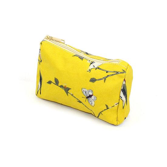 Make-up bag - Woodpecker yellow