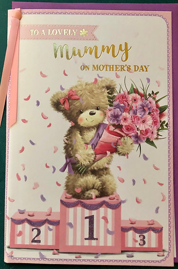Mummy - Mothers Day Card