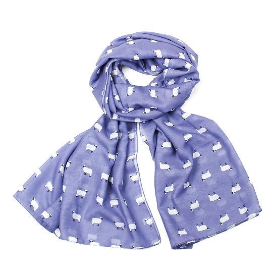 Summer scarf - Sheep - Lilac - RC2228 C28