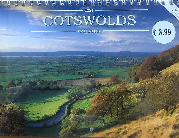Cotswolds Calendar 2021       A5