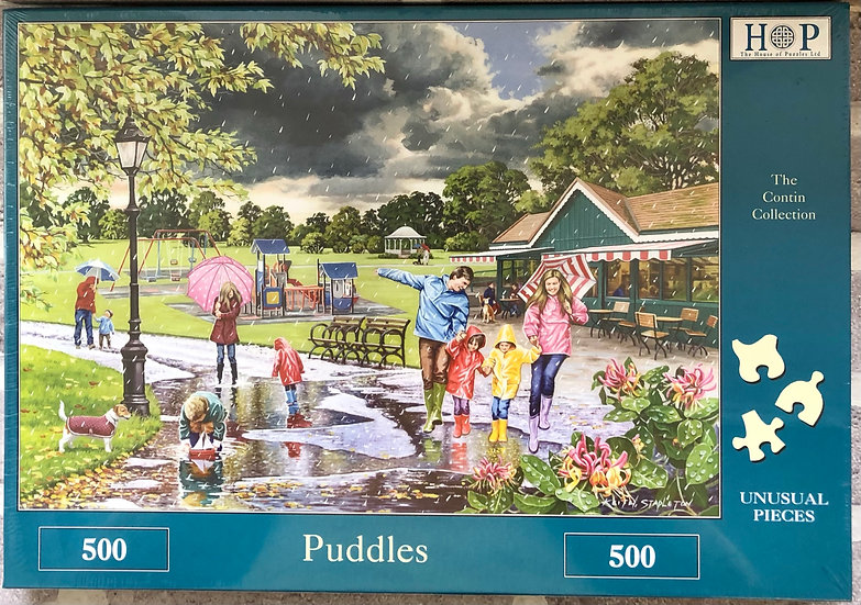 H O P Jigsaw puzzle...500 piece....Puddles