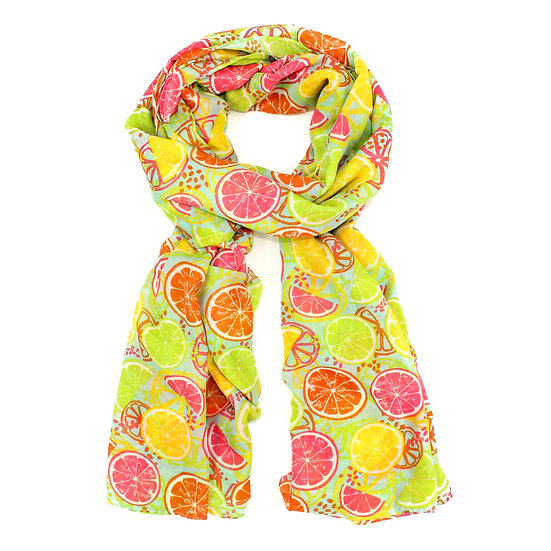 Summer scarf - Fruit slice - RH4054 C13