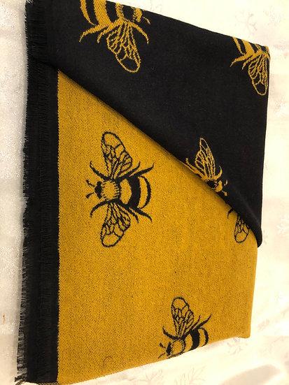 Bee design pashmina
