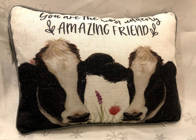 Cushion - cow