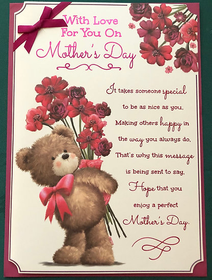 Mum -  Cute Mothers Day Card