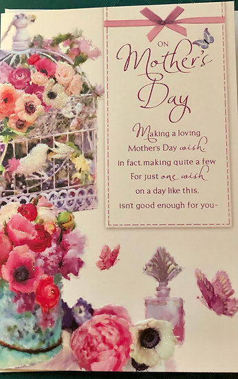 Mum - Mothers Day Card