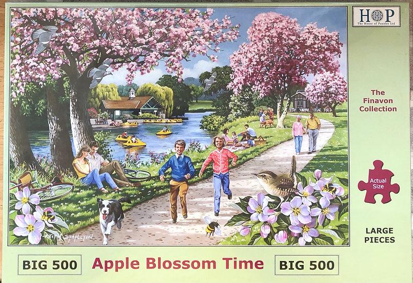H O P ..Jigsaw puzzle..BIG500...Apple blossom time