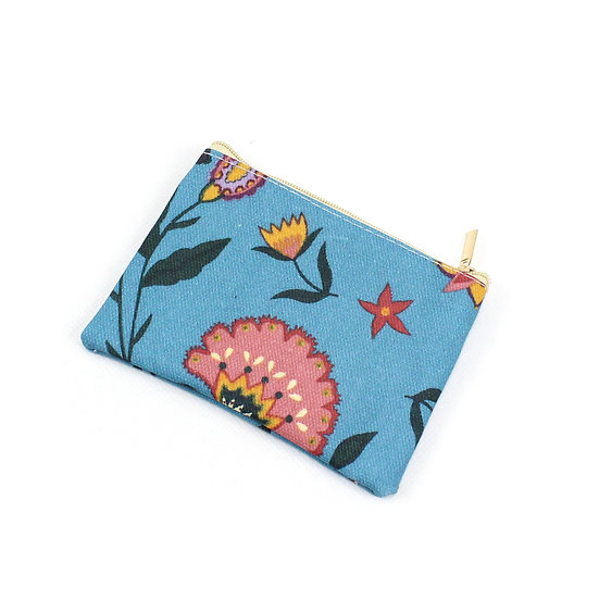 Coin Purse -  Folk flower