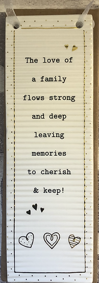 Thoughtful words plaque...297414 Family