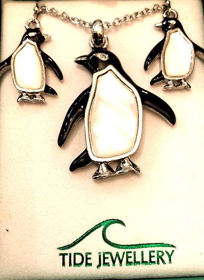 Necklace /Earrings set Paua shell