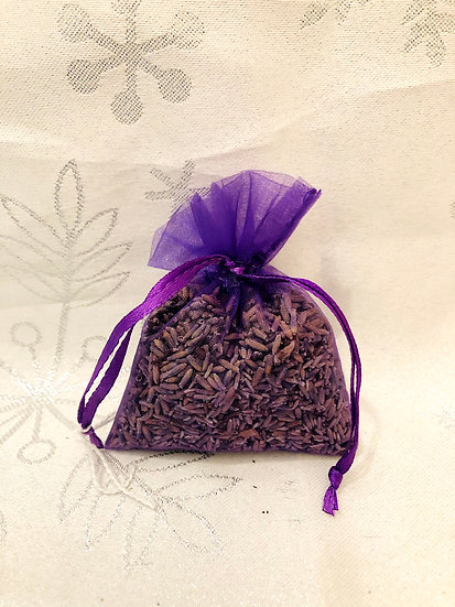 Organza lavender bag (small)