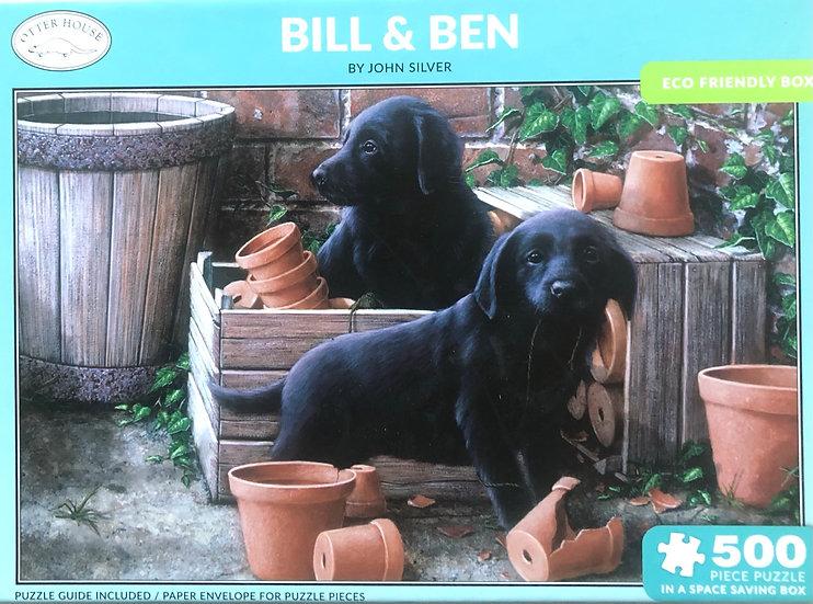 Jigsaw puzzle 500 pce Bill & Ben