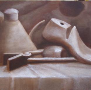 Still Life indirect painting