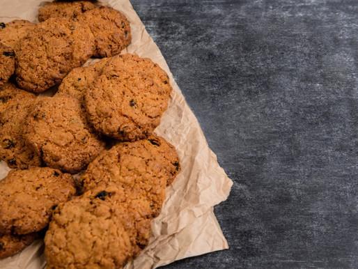 עוגיות שקדים וקקאו