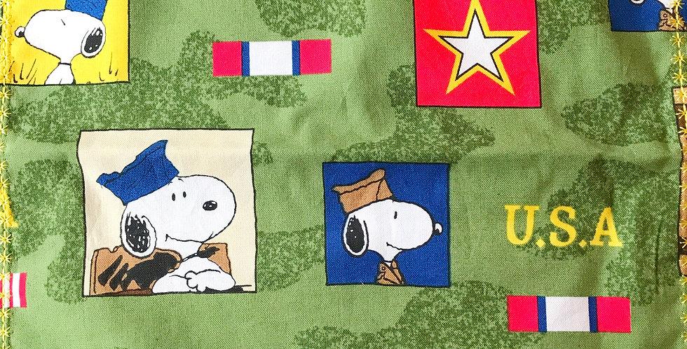 Snoopy Veteran Handkerchief