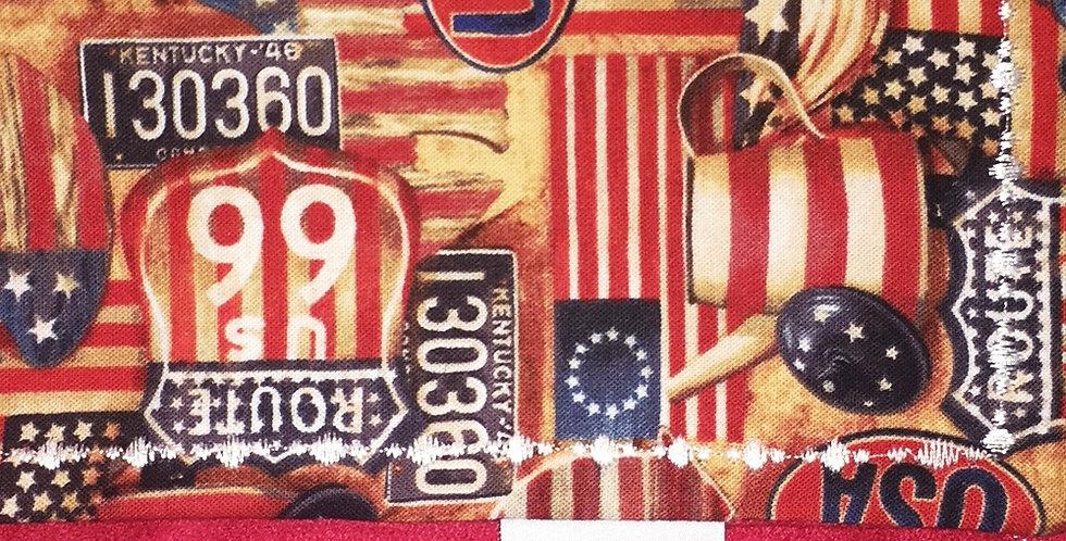 USA Handkerchief - Red