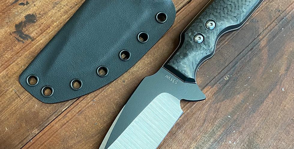 MK I - Medium Fixed Blade - Carbon Fiber
