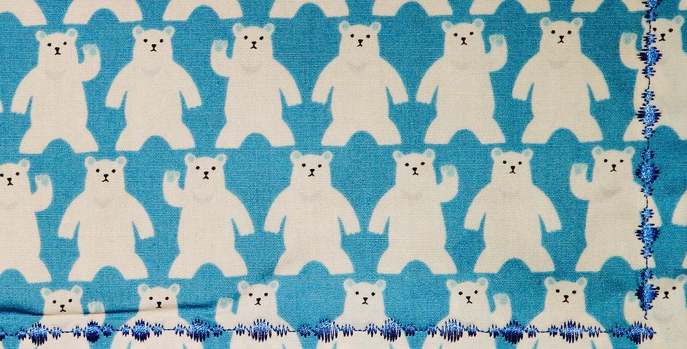 Polar Bears 2 Handkerchief