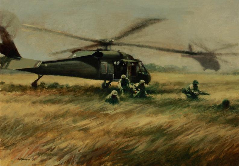 Air Assault, Las Tinajitas
