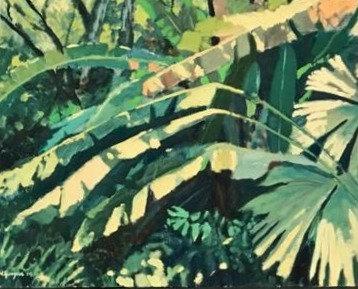 Panama Jungle, 30 x 40, Oil