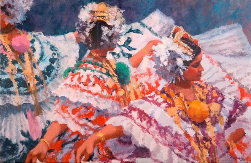 Las Polleras Open Edition Print