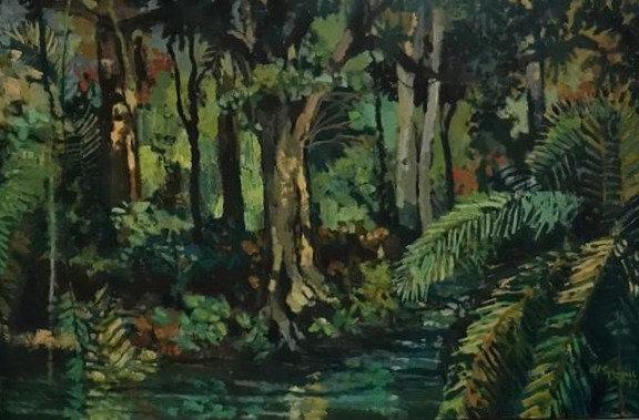 Jungle, 60 x 40 Oil