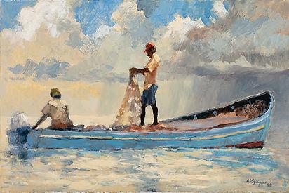Sardinas, 24 x 36, Oil, 2020.jpg