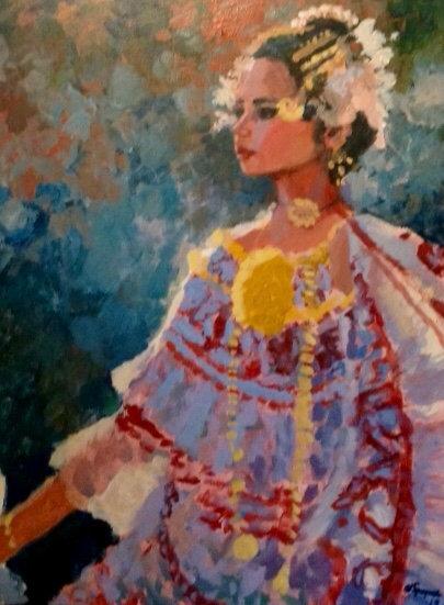 Julieta, 18 x 24 Acrylic