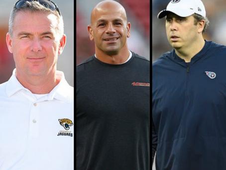 Sob nova direção: Jets, Jaguars e Falcons anunciam seus novos head coaches