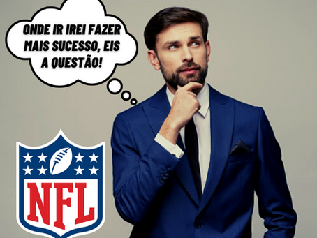 Você é GM da NFL: qual lugar você gostaria trabalhar?