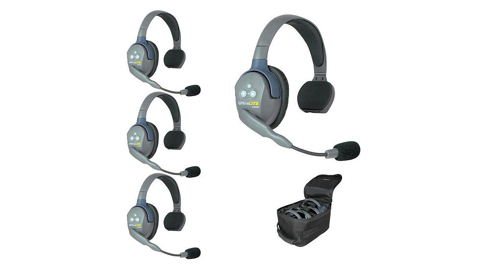 Eartec UltraLITE 4-Person Hands-Free Headset System