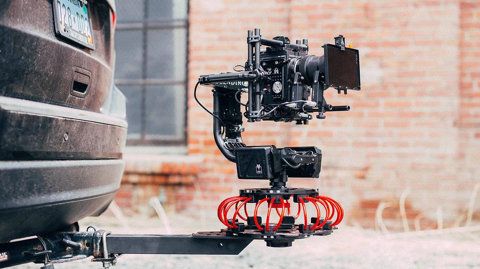 Ray Rig & Vibration Isolator Trailer Hitch Mitchell Camera Mount