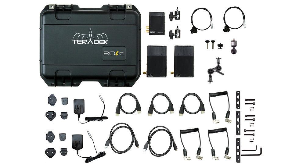 Bolt 500 Deluxe Kit 1:2, 1 Transmitter 2 Receivers Full Kit