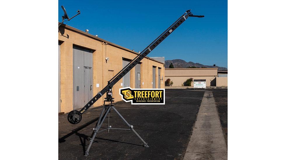 Intel-A-Jib Pro Crane with Mitchell Tripod Base