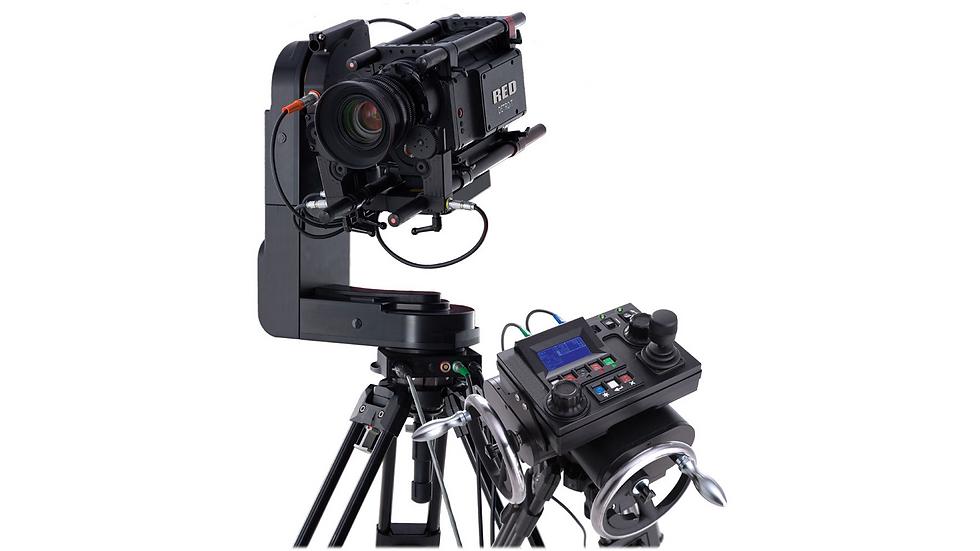 Cinema Pro Talon Remote Head w/ Hand Wheels & Console