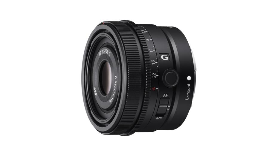 SonyFE 50mm F2.5 G Full-Frame Ultra-Compact G Lens