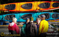 Deception Pass Dash seakayak trailer