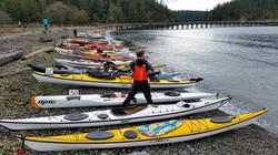 Deception Pass Dash tidal race start