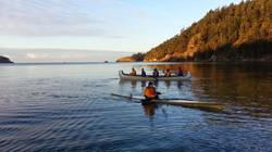 Deception Pass Dash 2013 Canoe